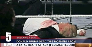 Is Donald Trump Dead From Fatal Heart Attack? Read The Truth